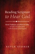 Reading Scripture to Hear God eBook
