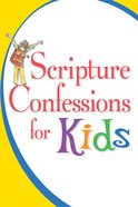 Scripture Confessions For Kids eBook