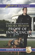 Proof of Innocence (Capitol K-9 Unit) (Love Inspired Suspense Series) eBook
