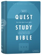 NIV Quest Study Bible (The Only Q And A Study Bible)