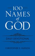 100 Names of God Daily Devotional, Blue Imitation Leather