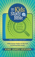 KJV Kids Study Bible Flex Blue Green (Red Letter Edition) Flexi Back