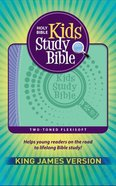 KJV Kids Study Bible Flex Purple Green (Red Letter Edition) Flexi Back