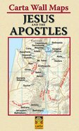 Carta Wall Maps: Jesus and the Apostles Chart/card