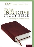 ESV New Inductive Study Bible Imitation Leather