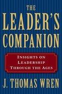 The Leader's Companion Paperback