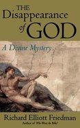 The Disappearance of God Hardback