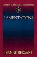 Lamentations (Abingdon Old Testament Commentaries Series) Paperback