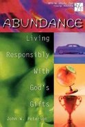 Abundance (20/30 Bible Study For Young Adults Series) Paperback