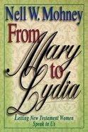 From Mary to Lydia Hardback