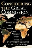 Considering the Great Commission Paperback