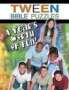 Tween Bible Puzzles Paperback