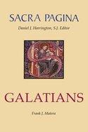 Galatians (#09 in Sacra Pagina Series) Hardback