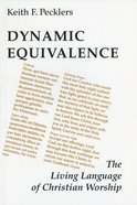 Dynamic Equivalence Paperback