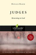 Judges (Lifeguide Bible Study Series) Paperback