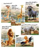 2019 Vbs Roar Bible Point Posters (Set Of 6) Pack