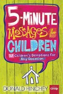5-Minute Messages For Children Paperback
