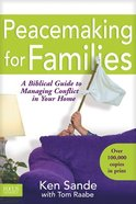 Peacemaking For Families Paperback