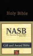NASB Updated Edition Black Gift & Award Imitation Leather