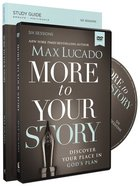 More to Your Story (Study Guide With Dvd) Paperback