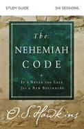 The Nehemiah Code Study Guide eBook