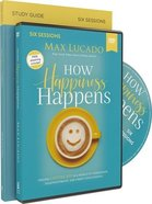 How Happiness Happens: Finding Lasting Joy in a World of Comparison, Disappointment, and Unmet Expectations (Study Guide With Dvd) Paperback