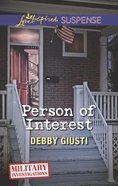 Person of Interest (Love Inspired Suspense Series) eBook