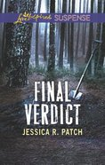 Final Verdict (Love Inspired Suspense Series) Mass Market
