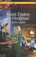 Amish Triplets For Christmas (Love Inspired Series) Mass Market