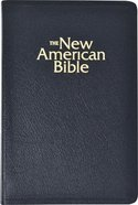 Nab Deluxe Catholic Gift Bible Black Bonded Leather