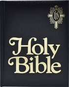 Nab Catholic Family Bible, the Black Imitation Leather