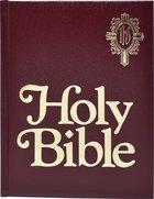 Nab Catholic Family Bible, the Burgundy Imitation Leather