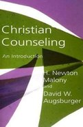 Christian Counseling Paperback