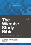 NKJV, Wiersbe Study Bible, , Ebook (Red Letter Edition) eBook