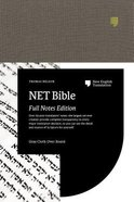 Net Bible Full-Notes Edition Gray