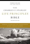 KJV Charles F. Stanley Life Principles Bible (2nd Edition) Hardback