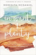 In Want + Plenty: Waking Up to God's Provision in a Land of Longing Paperback