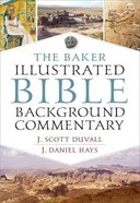 The Baker Illustrated Bible Background Commentary eBook
