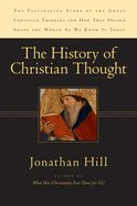 The History of Christian Thought Paperback