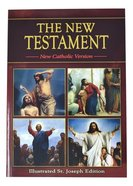 St Joseph New Catholic Version New Testament Study Edition Red Paperback
