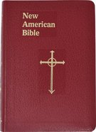 Nab Saint Joseph Personal Size Bible Burgundy Imitation Leather
