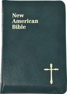 Nab Saint Joseph Personal Size Bible Green Zipper Bonded Leather