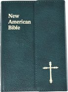 Nab Saint Joseph Bible Personal Size Green Magnet Bonded Leather