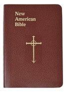 Nab Saint Joseph Personal Size Bible Brown Imitation Leather