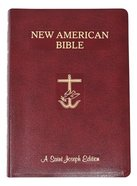 Nab St. Joseph New American Bible, the Giant Print Burgundy Bonded Leather
