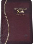 Nab St Joseph Gift Edition Burgundy Medium Size Imitation Leather