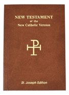 St Joseph New Catholic Version New Testament Vest Pocket Flexi Back