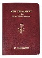 New Catholic Version New American New Testament Bible Vest Pocket Edition Imitation Leather