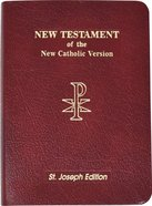 New Catholic Version New American New Testament Bible Vest Pocket Edition Imitation Leather