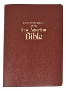 Nab Saint Joseph Medium Size Bible Brown Imitation Leather